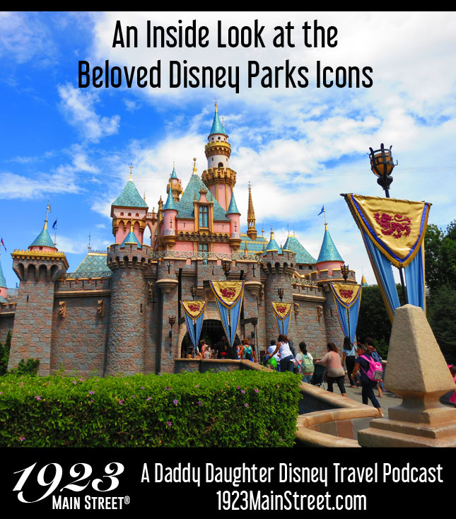 Disney Travel Podcast, Disney Parks Landmark Icons