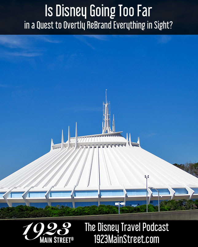 Disney Travel Podcast Space Mountain