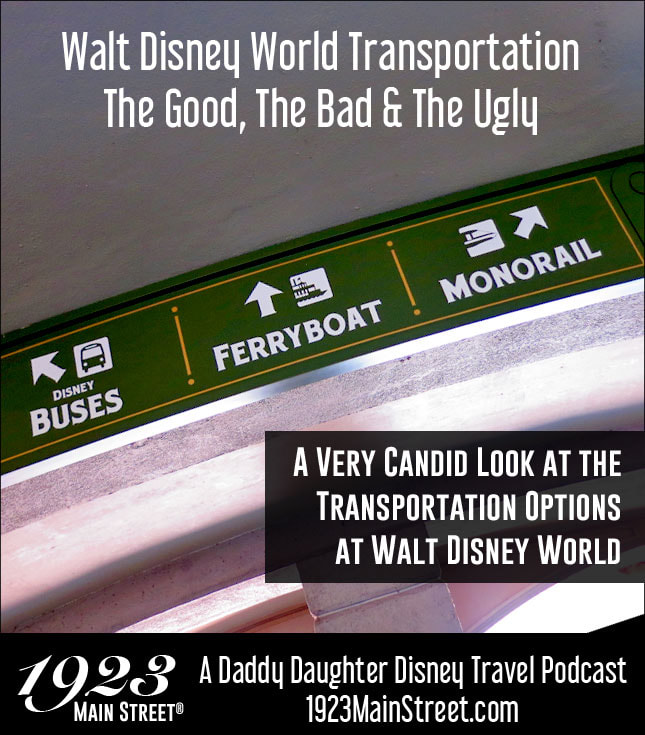 Disney Podcast Disney World Transportation